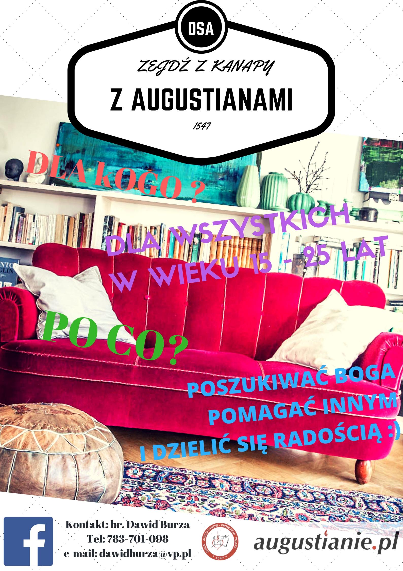 Zejdź z kanapy z Augustianami
